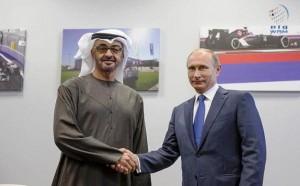 Sheikh Mohamed bin Zayed meets Putin
