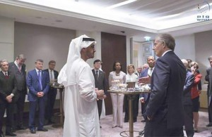 Sheikh Mohamed bin Zayed receives JP Morgan delegation