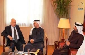 Gargash meets Arab League Secretary General