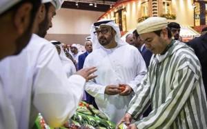 King Mohammed VI & Sheikh Mohamed bin Zayed tour SIAL
