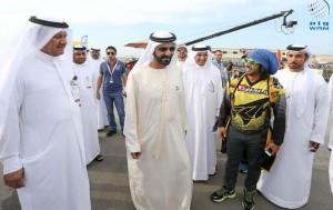 PM visits FAI World Air Games 2015