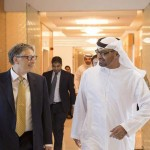 Sheikh Mohamed bin Zayed receives Bill Gates