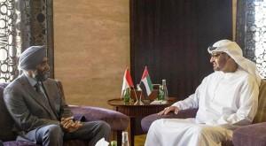 Sheikh Mohamed bin Zayed receives Canadian Minister