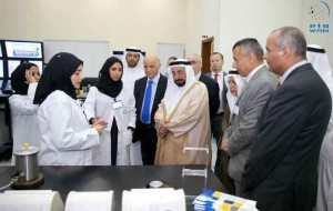 Sheikh Sultan opens nuclear engineering laboratories