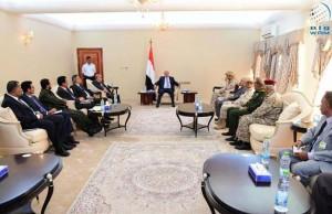 Yemeni President values Arab Coalition's sacrifices