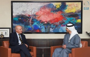 Foreign minister receives Portuguese counterpart