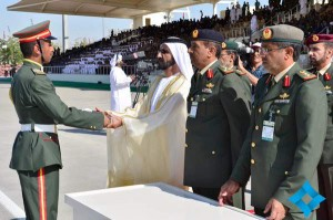 Graduation ceremony at Zayed II Military College held