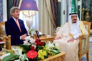 Mohammed bin Salman, John Kerry discuss relations