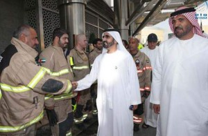 PM visits Address Downtown hotel fire site