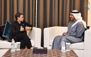 Sheikh Abdullah receives Indonesian Foreign Minister