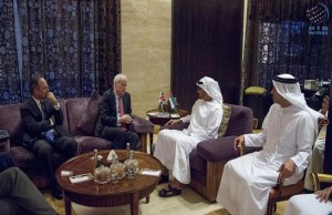 Sheikh Mohamed bin Zayed meets British security adviser