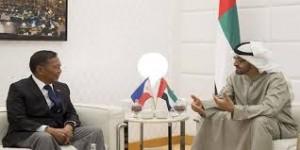 Sheikh Mohamed bin Zayed receives Philippines' VP