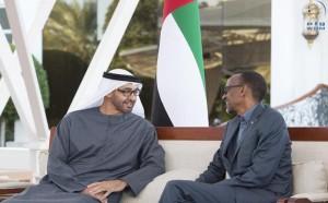 Sheikh Mohamed bin Zayed receives Rwandan President