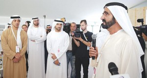 Sheikh Mohammed attends reading retreat