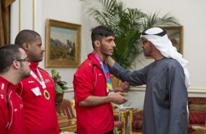 UAE team for Paralympic Games meets Abu Dhabi's CP