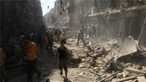 Halt of airstrikes against Syrian civilians demanded