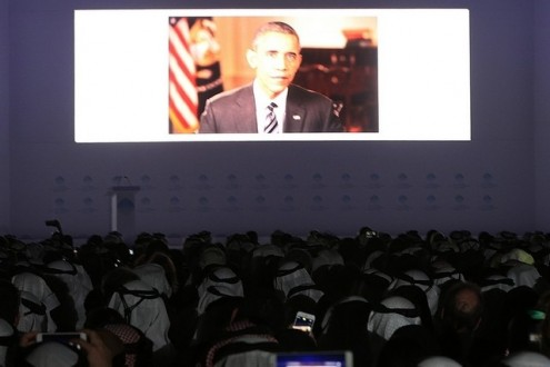 President Obama addresses World Govt Summit