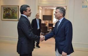 President of Argentina receives Sheikh Abdullah