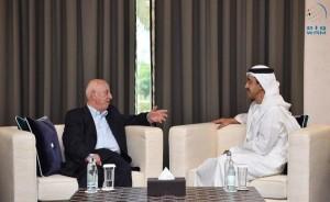 Sheikh Abdullah receives Ahmed Qurei