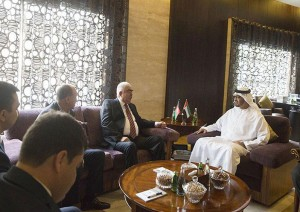 Sheikh Mohamed bin Zayed receives First VP of Afghanistan
