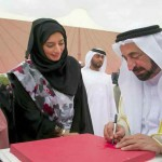 Sharjah Ruler attends launch of Pink Caravan