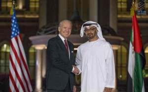 Sheikh Mohamed bin Zayed meets US Vice President