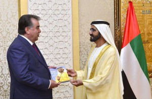 UAE-Tajikistan's bilateral relations discussed