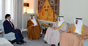 Bahrain's Crown Prince receives Pakistan's Ambassador