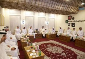 Sheikh Mohammed visits Dubai Municipality