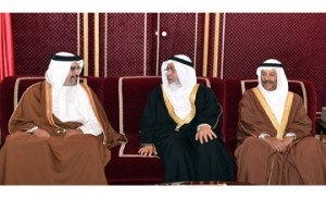 Crown Prince holds weekly Majlis
