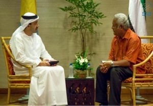 FM meets Foreign Minister of Palau