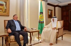 GCC Chief meets Russian Ambassador