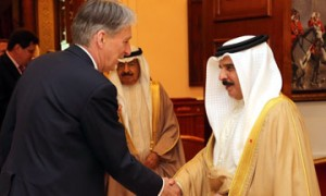 HM the King receives UK state secretary