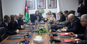 Jordan, Germany discuss economic cooperation