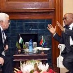 Palestinian president meets South African counterpart