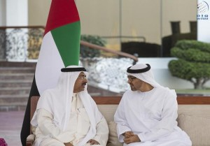 Sheikh Mohamed bin Zayed receives King of Bahrain's note