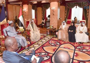 Sheikh Mohammed receives President of Chad