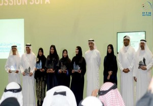 Winners of Emirates Novel Award honoured