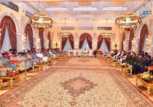 PM receives senior military, police and security officers