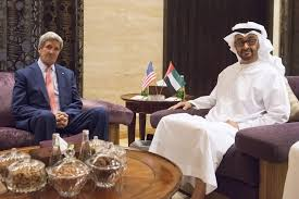 Sheikh Mohamed bin Zayed, Kerry discuss latest developments