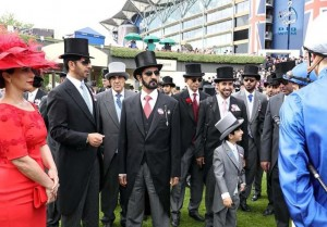 Sheikh Mohammed attends Day 3 of Royal Ascot