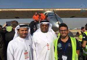 Solar Impulse 2 arrives in Egypt