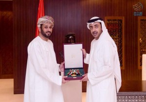 Zayed the Second Medal awarded to Omani ambassador
