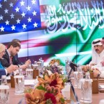 Saudi Crown Prince meet US Secretary of State