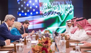 Saudi Crown Prince meet US Secretary of State