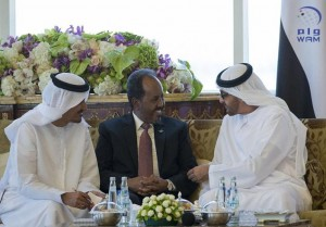 Sheikh Mohamed bin Zayed receives Somali President