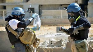 UNSC receives report on use of chemical weapons in Syria