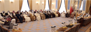 Premier receives Muharraq citizens