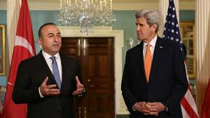 Turkish FM meets US State Secretary