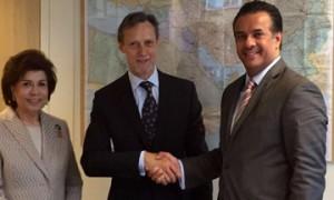 Assistant Foreign Minister meets EU officials